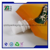 Vácuo Preto Mate Printng personalizado saco hermético Doypack impressão de embalagens plásticas com bico para sumo, vinho, leite e embalagens de bebidas