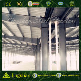 Estructura de acero de la luz de bajo coste de almacén de contracción