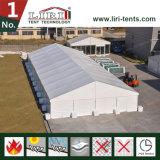 30X100m PVC 직물을%s 가진 옥외 큰 임시 알루미늄 프레임 창고 천막 건물