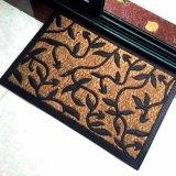 De met rubber bekleede Matten van het Coir van de Kokosnoot Coco van de Ingang Welkome Rubber Gesteunde