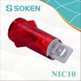 Soken NIC10 luz indicadora con lámpara de neón
