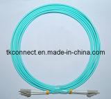 LC/LC 50/125 um Cable de fibra óptica OM3