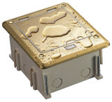 Universalfußboden-Kästen der kontaktbuchse-IP66