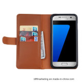 Портмоне из натуральной кожи для мобильных ПК для сотового телефона Samsung