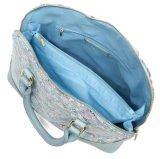Handtassen van de Handtassen van de Dames van de manier de Mooie Bloemen Zes Handtassen van het Leer van Kleuren