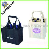 Firmenzeichen gedruckter nicht gesponnener Wein-Flaschen-Beutel für System (HC0006)