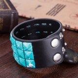 Heißer Verkaufs-europäisches und amerikanisches Form-Weinlese-Leder-Armband