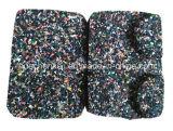 De dunne EPDM Gerecycleerde RubberTegels van de Vloer