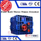 Rolo da boa qualidade quatro triturador de três vezes para o esmagamento do seixo