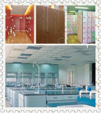 Lamellenförmig angeordnete Schrank-Küche HPL des Blatt-HPL