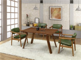 Solid rettangolare Wood Dining Table per Canton Fair (FOH-BCA67)