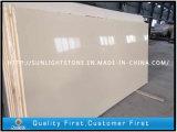 Pietra artificiale beige costruita del quarzo per il controsoffitto Worktops