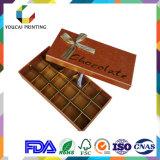 Boîte-cadeau cosmétique d'emballage de papier de couleur de qualité
