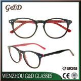 Het populaire Frame Sr6068 van de Glazen van het Oogglas van Eyewear van de Voorraad van de Acetaat In het groot Optische