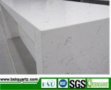 2cm starker Carrara weißer Quarz-Stein mit Aktien
