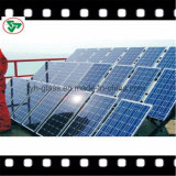 Panneau solaire en verre solaire Tempered d'enduit Anti-R3fléchissant