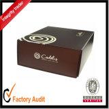 Таможня упаковывая магнитную коробку подарка оптовую, упаковывая коробку бумаги картона закрытия