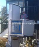 Outdoor verticale plate-forme élévatrice pour fauteuil roulant pour les personnes handicapées