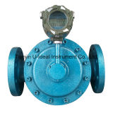 Diesel Flow Measuring Oval Gear Type Mechanical Flow Meter