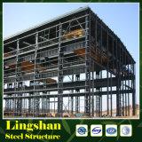 Alto edificio prefabricado del hotel de la subida de la estructura de acero