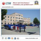 Aanhangwagen van de Vrachtwagen van het Skelet van de Container van het nut 40FT de Semi