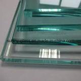 Baixo-e vidro de construção isolado laminado reflexivo do flutuador Tempered ultra desobstruído