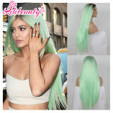 Dye Color Colorful Fashion New Color Style Sintético Halloween Wigs