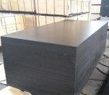 la película del álamo negro de 18X1220X2440m m hizo frente a la madera contrachapada para la construcción