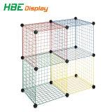 DIY Dssemble металлической проволоки Cube отсек для хранения