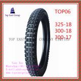 Hochwertiger Reifen des ISO-Nylonmotorrad-6pr mit 325-18, 300-18, 300-17