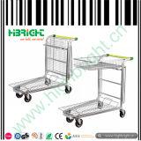 Faltbarer Befestigungsteil-Speicher-Einkaufswagen