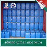 Química de curtimento de couro 85% de ácido fórmico mínimo