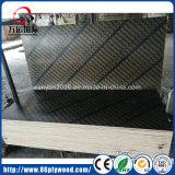 Madera contrachapada Shuttering hecha frente película impermeable de la base del álamo del pino para la construcción