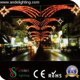 Luces al aire libre de la decoración de los horizontes del día de fiesta de la decoración LED de la Navidad de la calle