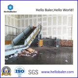 Máquina de reciclaje de papel de desecho hidráulico con cinta transportadora (HFA10-14)