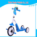 New Model Kids 2 em 1 Scooter Children Foot Kick Scooter Tricycle Bike