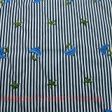 Poliéster algodón bordar tejido Camisa de vestir falda de desgaste de los niños