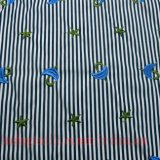 Tissu de polyester coton broder pour habiller les enfants d'usure de la jupe de chemise