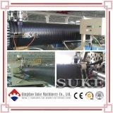 Riga d'acciaio di plastica dell'espulsione di produzione del tubo di bobina del PE