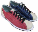 Zapatos de bowling durables del cuero genuino