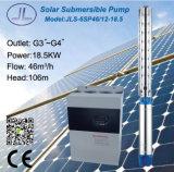 6sp46-12浸水許容の潅漑の遠心太陽水ポンプ