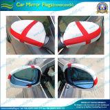 Le spandex polyester cache miroir de rétroviseur de voiture du Drapeau Drapeau (UN-NF13F14005)