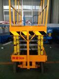 elevatore idraulico elettrico mobile della piattaforma di 16m