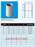 Soquete elétrico padrão de Austrália do encaixe de tubulação de PVC-U