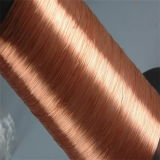 Fil d'aluminium plaqué de cuivre sur le fil de la DPA
