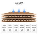 Preiswerter chinesischer Fabrik-Hersteller des gewölbten Verpackungs-Kartons