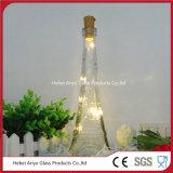 Bouteille en verre à vin en forme de tour Eiffel Bouteilles à jus de liège