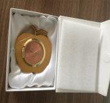 Omaggi stabiliti del ricordo di affari del regalo dell'orologio dello scrittorio del metallo del regalo di affari di alta qualità