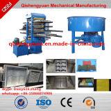 Machine de fabrication de brique en caoutchouc d'étage/ligne de vulcanisation de Recyling de machine/pneu
