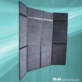 ألومنيوم إطار لوح عرض جدار يطوي شاشة